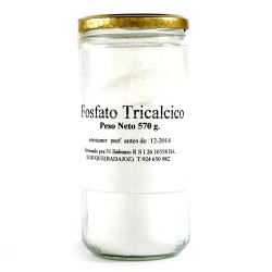 Tarro de Fosfato tricálcico en polvo 570 gr