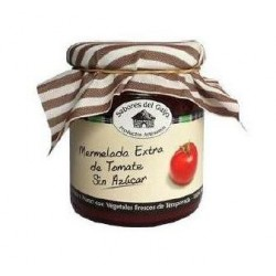 Mermelada sin azúcar artesanal de tomate.