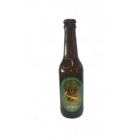 """Cerveza Artesana Sevebrau """"Ex 1 IPA Seve-Boris"""""""