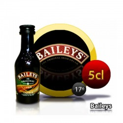 Botella miniatura crema whisky Baileys