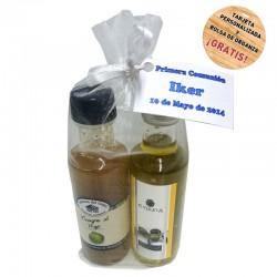 Detalle de boda (Aceite de Oliva y vinagre de Tomate)