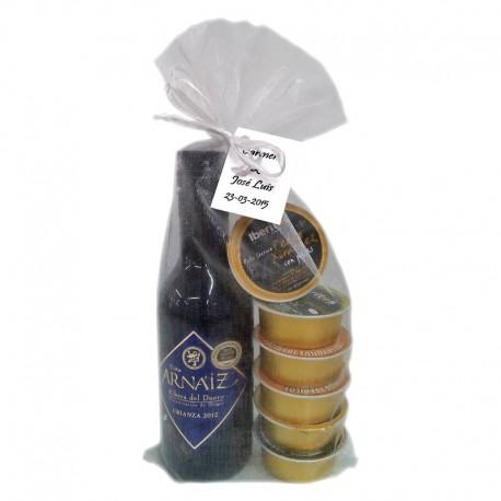 Pack boda (vino Arnáiz e Iberitos)