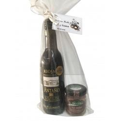 Tarrito de paté Deliex con vino Antaño