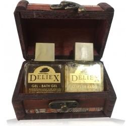 Comprar baúl pequeño mapas con gel para eventos y sales de baño Deliex para empresa
