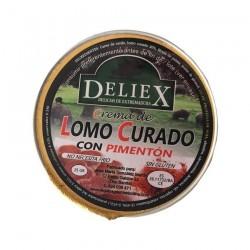 Crema de lomo curado al pimentón 25gr Deliex monodosis