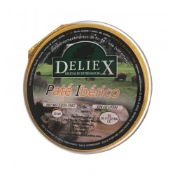 Paté ibérico Deliex (25g x 45uds)