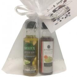 Pack boda miniaturas (Aceite de Oliva y Vinagre DO)