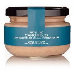 Crema de paté de Cangrejo con AOVE para empresa