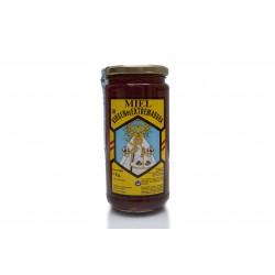 Miel extraída de las flores del castaño. Tarro grande 1 kg