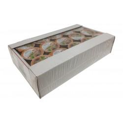 Paté de atún en bandeja de 45 unidades