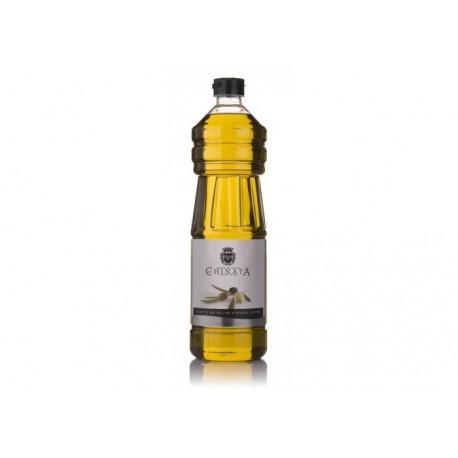 """Botella pet 1L aceite de oliva virgen extra """"La Chinata"""""""