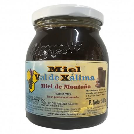 Miel montaña natural de Val de Xálima 0,5 kg
