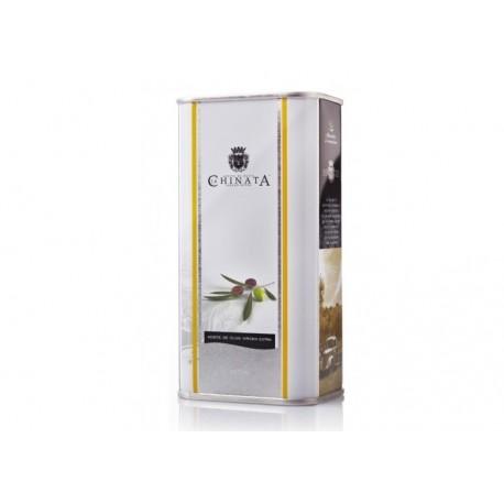 Miniatura lata 250 ml de Aceite de Oliva Virgen Extra (La Chinata)