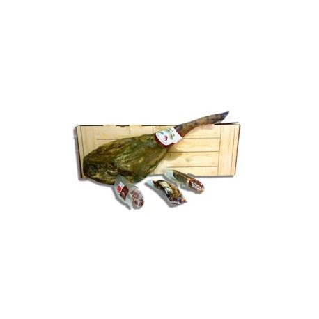 Regalo de embutidos ibéricos en caja de jamón grande lote nº 1