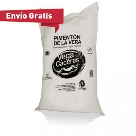 Saco de pimentón ahumado de la Vera picante (5 kg)