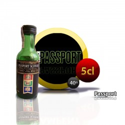 Botella miniatura whisky Passport