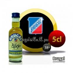 Botella miniatura ron Brugal