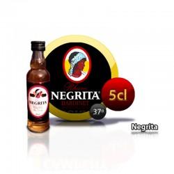 Botella miniatura ron Negrita 5 años