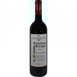 vino tinto clásico botella pequeña Catalina Arroyo