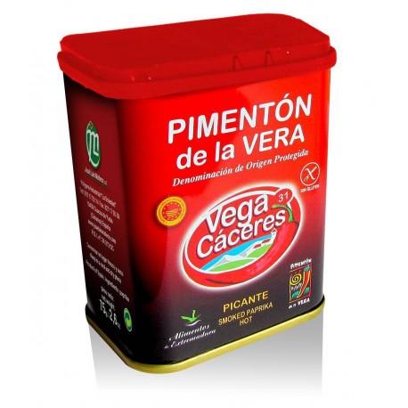 Pimentón de la Vera picante (Lata 75g) D.O.P