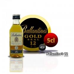 Miniatura whisky Ballantines 12 años