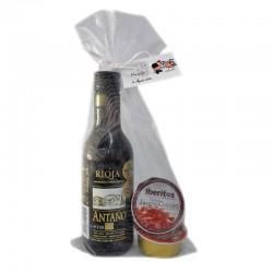 Pack boda (vino Antaño Rioja con Iberitos)