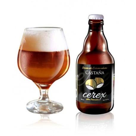 Cerveza Cerex de Castaña
