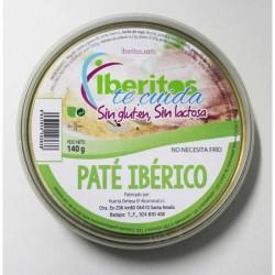 Paté ibérico sin lactosa 140gr