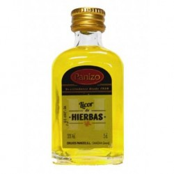 Miniatura licor de hierbas Panizo