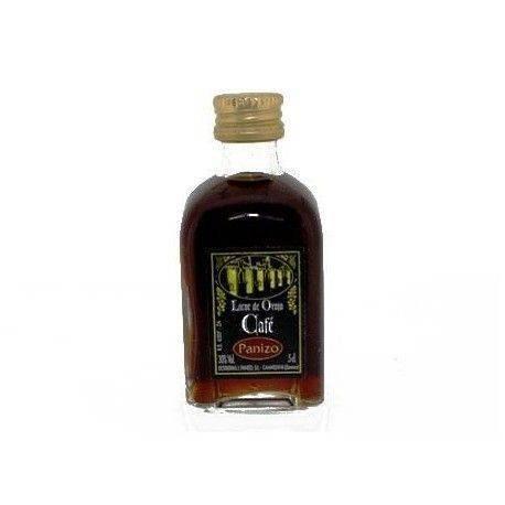 Licor de café Panizo mini para regalos de empresa