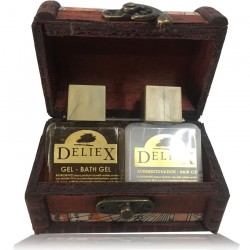 Comprar baúl pequeño mapas con gel y acondicionador para empresas Deliex