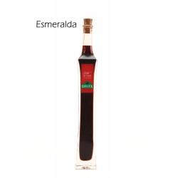 """Botella de licor de sabores formato """"Esmeralda"""""""