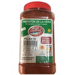 Bote de pimentón ahumado de la Vera variedad picante (910 gr)