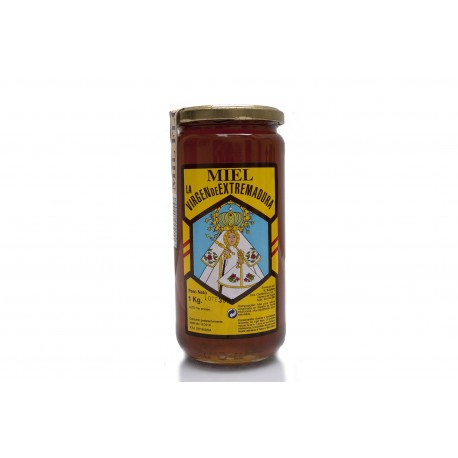 Tarro miel 1 kg Sierra de Guadalupe