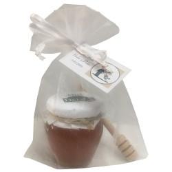 Pack palito catador y tarro miel orcio para empresas