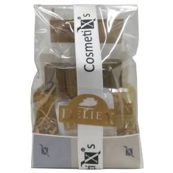 Detalle de productos de cosmética para regalar en celebraciones