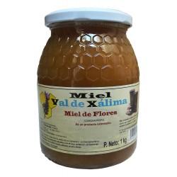 Miel multifloral de 1kg Val de Xálima