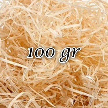Virutas de madera 0,5 kg para estuches o embalaje