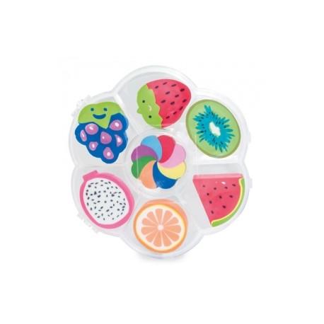 Pack regalo juego de gomas con forma de frutas
