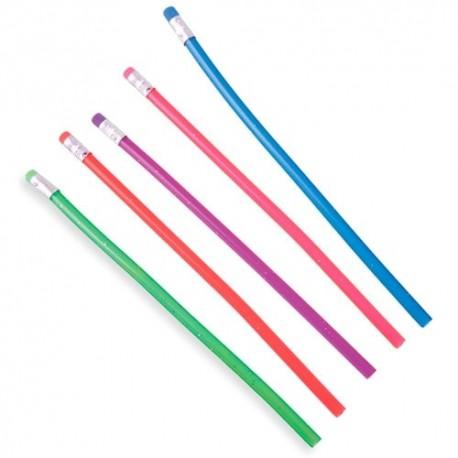 Lápices flexibles de colores para niños