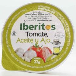Aceite, ajo y tomate de 25 gr