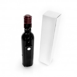 Imán sacacorchos con forma de botella de vino