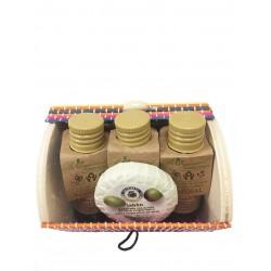 Kit cosmética con baúl miniatura
