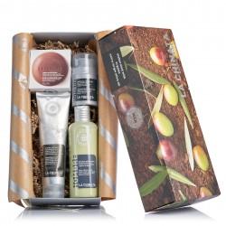 Lote con cosméticos naturales regalo para hombres