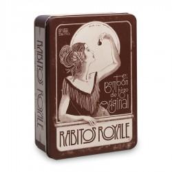 Bombones de higo Rabitos Royale en caja diseño antiguo