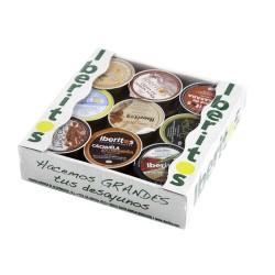 Bandeja de iberitos de sabores variados de 18 unidades